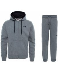 The North Face - Open Gate Lxs Hooded Tracksuit Grey - Lyst