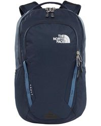 The North Face - Vault Pack Lkm Backpack Blue - Lyst