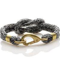 Sperry Top-Sider - Women's Rope Knot Hook Bracelet - Lyst