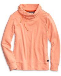 Sperry Top-Sider Women's Funnel Neck Sweatshirt - Orange
