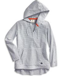 Sperry Top-Sider - Women's Woven Popover Hoodie - Lyst