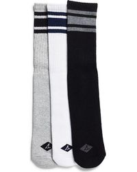 Sperry Top-Sider - Men's Striped Tube Crew Sock - Lyst