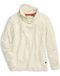 Sperry Top-Sider Women's Funnel Neck Sweatshirt - White