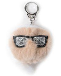 Karl Lagerfeld Key Case - White