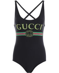 Gucci - One Piece Swimsuit - Lyst