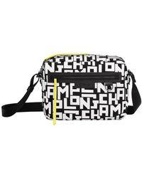 Longchamp Le Pliage Lgp Camera Bag - Black