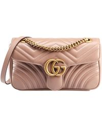 Gucci - GG Marmont Sm Bag - Lyst