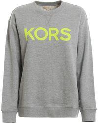 Michael Kors Logo Sweatshirt - Grey