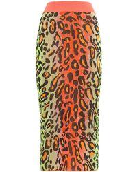 Stella McCartney - Neon Animalier Longuette - Lyst