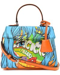 Moschino - Printed Handbag - Lyst