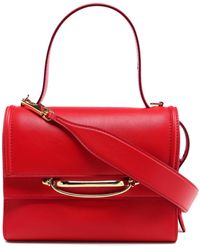 Alexander McQueen Small Double Flap - Red