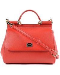 d10ba598891 Dolce & Gabbana Dauphine Print Calfskin Mini Von Bag With Lipstick ...