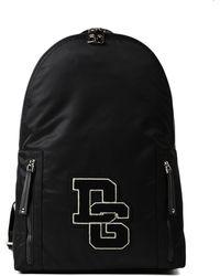 Dolce & Gabbana - Backpack Dg Logo Path - Lyst