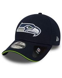 KTZ Casquette NFL Seattle Seahawks Team 39thirty Bleu Marine