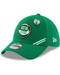 KTZ Casquette NBA Boston Celtics Draft 2019 Snapback 39Thirty Vert