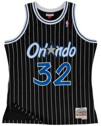 Mitchell & Ness Maillot NBA Shaquille O'neal Orlando Magic 1994-95 swingman Hardwood Classics Noir