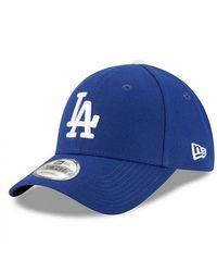 KTZ Casquette MLB Los Angeles Dodgers The league 9Forty Ajustable Bleu