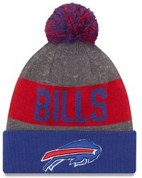 KTZ Bonnet NFL Buffalo Bills Sideline Bobble - Rouge