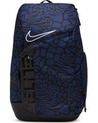 Nike Sac a Dos Elite Pro Noir Bleu marine camo - Multicolore
