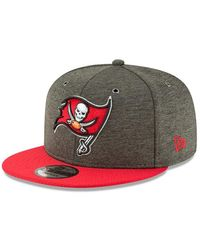 KTZ Casquette NFL Tampa bay Buccaneers 2018 Sideline Home 9Fifty Snapback Vert - Multicolore
