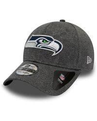 KTZ Casquette NFL Seattle Seahawks Engineered Plus 39Thirty Gris - Multicolore