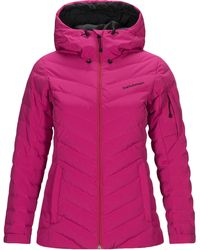 Peak Performance Frost Skijacke - Pink