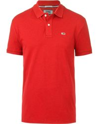 Tommy Hilfiger Classics Poloshirt - Rot