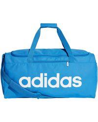adidas CORE Linear Duffel 46 cm S - Blau