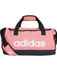 adidas LINEAR SPORT ESSENTIALS Sporttasche - Pink