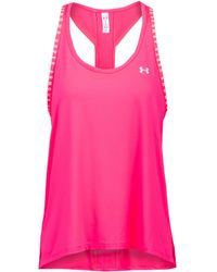 Under Armour - Knockout Funktionstank - Lyst