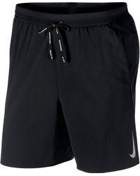 Nike Flex Stride Laufshort - Schwarz