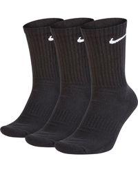 Nike CREW Socken Pack - Schwarz
