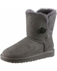 UGG Bailey Button Boot - Grau