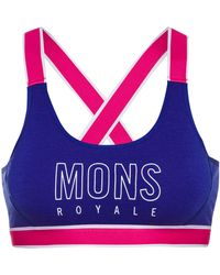 Mons Royale Stella X-Back BH - Blau