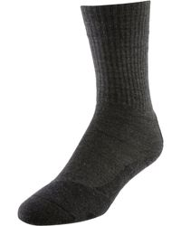 FALKE TK2 Wool Wandersocken - Grau