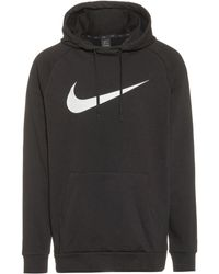 Nike Dry Swoosh Hoodie - Schwarz