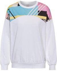 Iriedaily Funky Block Sweatshirt - Weiß