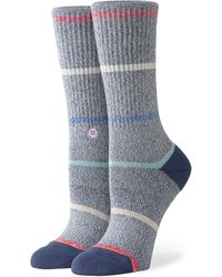 Stance Sundown Crew Sneakersocken - Blau