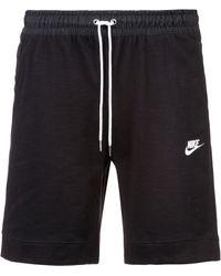 Nike NSW Sweatshorts - Schwarz