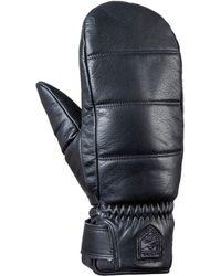 Hestra Alpine Leather Primaloft Mitt Skihandschuhe - Schwarz
