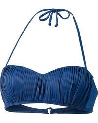 Rip Curl Classic Surf Bikini Oberteil - Blau