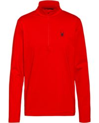 Spyder Prospect Layerlangarmshirt - Rot