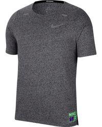 Nike Rise 365 Funktionsshirt - Grau