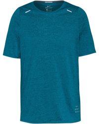 Nike Rise 365 Funktionsshirt - Blau