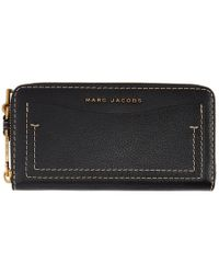 Marc Jacobs - Black The Grind Continental Wallet - Lyst
