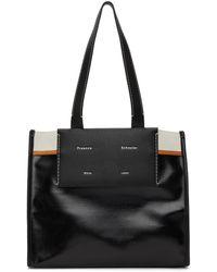 Proenza Schouler White Label コレクション ブラック ラージ Morris トート