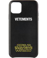 Vetements Star Wars エディション ブラック ロゴ Iphone 11 Pro Max ケース
