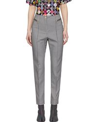 Opening Ceremony - Black And White Check Ski Trousers - Lyst