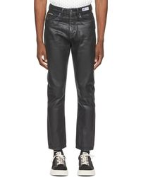 Eytys Black Coated Solstice Jeans