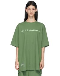 Marc Jacobs グリーン The Big T-shirt T シャツ
